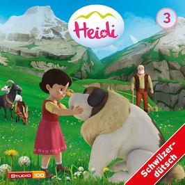 HEIDI Mundart TV-SERIE, Hörspiel mit 2 CDs - Vol. 3