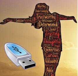 Clé USB : L'autolouange par Marie Milis