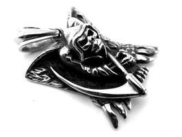 Edelstahl Anhänger Sensenman Reaper (A-109)
