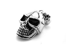 Totenkopf Skull Anhänger aus Edelstahl (A-101)