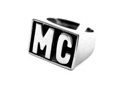 Edelstahl Ring MC  (R048)