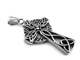 Keltisches Kreuz Edelstahl  (A-104)