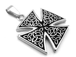 Iron Cross Edelstahl Anhänger Top Design (A-107)