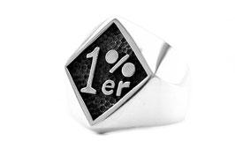 1%er Ring aus Sterling Silber 925 (silber 008)