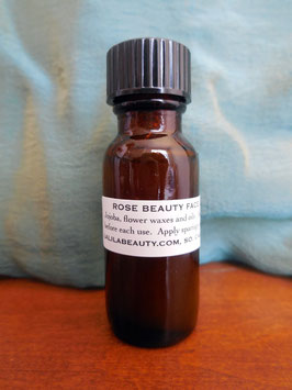 Rose Beauty Face Oil 0.5 ounce