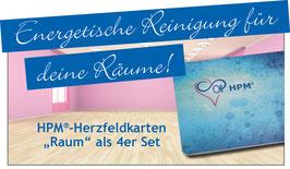 "NEU***   HPM®-Herzfeldkarten ""Raum"" als 4er Set"
