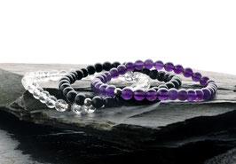 "HPM®-Kristall-Armbandset ""Schutz"""