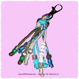 Schlüsselanhänger mit Diamantknoten
