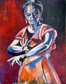 "Acrylbild ""Flamenco II"""