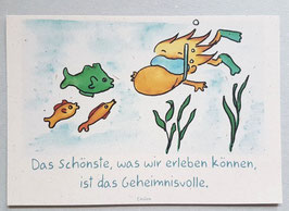 "Postkarte ""Geheimnisvoll"""