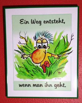 """Print """"Ein Weg entsteht"""""""