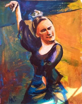 """Acrylbild """"Flamenco I"""""""