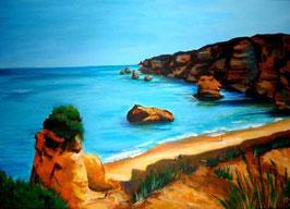 Kleiner Strand zwischen Lagos und Ponta da Piedade
