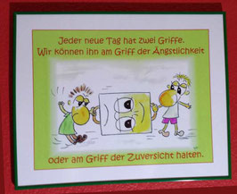 """Print """"Zwei Griffe"""""""