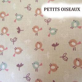 Lingettes bébé lavables - Petits Oiseaux