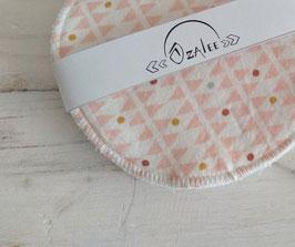 Coussinets d'allaitement lavables - Rose pâle