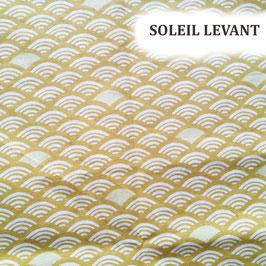 """Kit de couture pour fabriquer ses lingettes bébé - """"Soleil levant"""""""