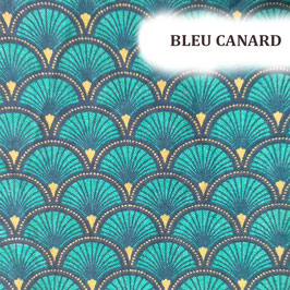 """Serviettes hygiéniques lavables """"Bleu canard"""""""