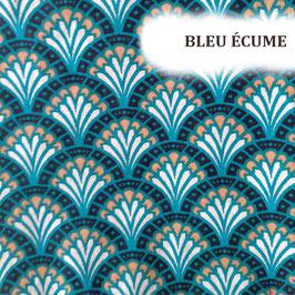 """Serviettes hygiéniques lavables """"Bleu Ecume"""""""