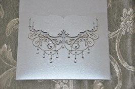 Laser Cut Chandelier Pocket Pack of 10