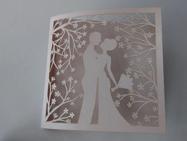 Laser Cut Cover Cherry Blossom Design Pack of 10