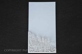 Laser Cut Pocket DL Floral Corner Design Pack of 10