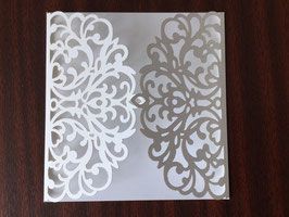 Laser Cut Cover Ornate Design Pack of 10