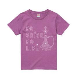 GOONies支援Tシャツ (Girls) 【NO SHISHA NO LIFE】