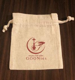 GG001 GOONiesコットンリネン巾着