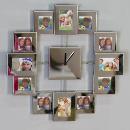 Uhr Pictures für bis zu 12 Fotos Wanduhr