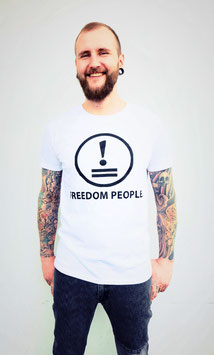 """Tim Loves Freedom"" Shirt white"