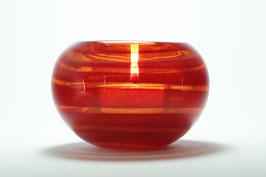 Teelicht, rot