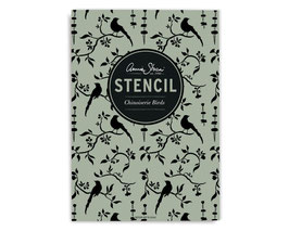Annie Sloan Stencil  Chinoiserie Bird - Schablone A3 Design