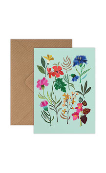 Summer Study Greeting Card by Brie Harrison