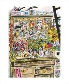 Klappkarte mit Umschlag von ArtAngels: September Dresser