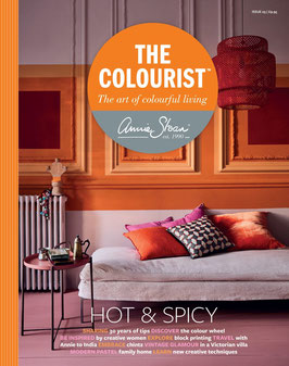 Annie Sloan THE COLOURIST Bookazine- Issue 5 #- Hot and Spicy