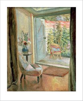 Klappkarte mit Umschlag von ArtAngels: View into the Garden