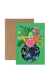 Fleurs Greeting Card by Brie Harrison