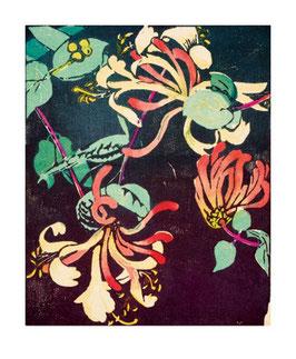 Klappkarte mit Umschlag von ArtAngels: Honeysuckle