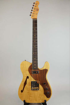 O.CRAFT #44 All Chestnut Thinline Type ~ハカランダ指板~
