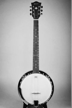 Blanton BB-15G ~6Strings Guitar Banjo~