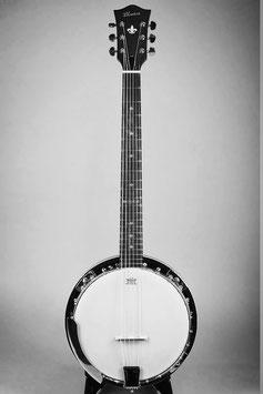 ★HOLD★Blanton BB-15G ~6Strings Guitar Banjo~