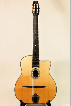 AT Guitars #92 Petite Bouche Std Antique ~バック単板モデル~