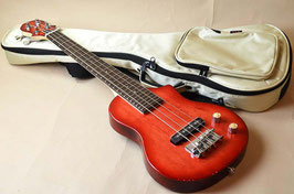 BigIsland EBU-BMP-RD Ele.Mini Bass Red