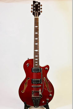 Duesenberg Starplayer TV Deluxe Crimson Red 【DTV-DLX-CMR】