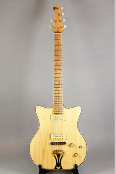 AT Guitars Double Cutaway ElectricGuitar