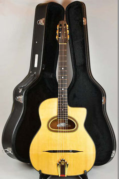 ★SOLD★Marcò La Manna No.11 Selmer-Maccaferri D-Hole Replic Antiqua Model