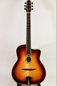 GYPSY SWING JAZZ GUITAR YZ-6 / Sunburst
