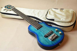 BigIsland EBU-BMP-BL Ele.Mini Bass Blue