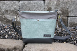 City . Bag . Small . Mint. Grau